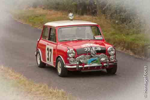 Paddy Hopkirk takes to the hill