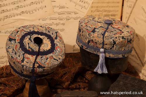 Blue Colonial Trader Hats